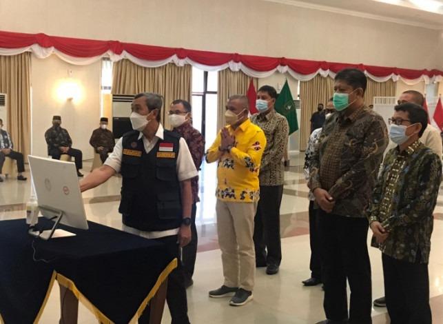 Launching Online PPDB SMAN/SMKN, Syamsuar Ingatkan Sekolah dan Disdik Transparan