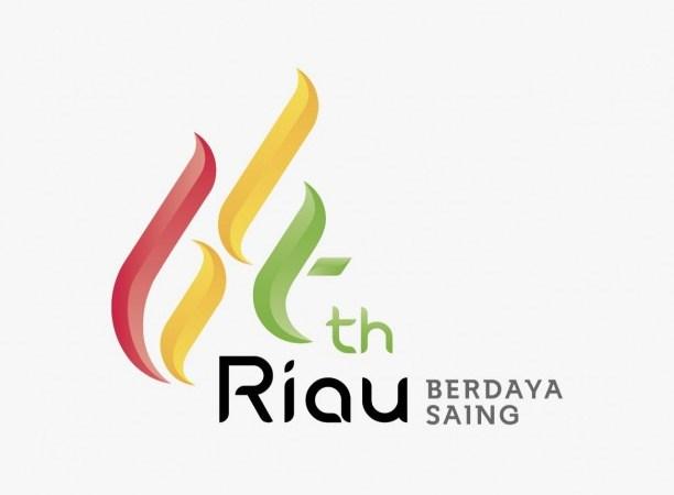 Ini Logo Hari Jadi ke-64 Provinsi Riau Hasil Sayembara