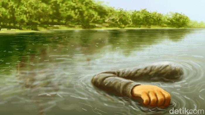 Bukan Suryani, Identitas Mayat Terapung di Sungai Rokan Misterius
