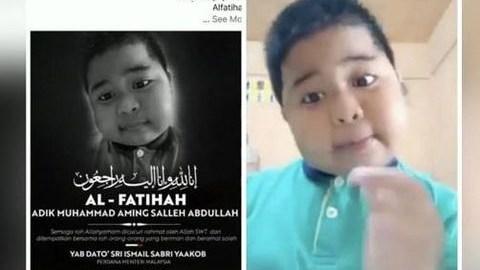 Bocah Aming yang Populer di Medsos Meninggal, Video Terakhirnya Viral