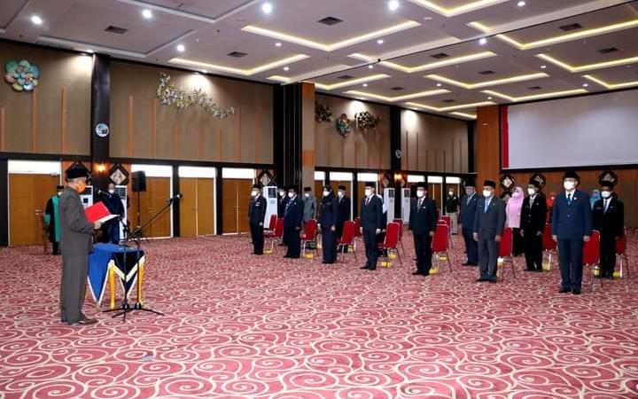 Tujuh Pejabat Esselon II Pemko Pekanbaru Dirotasi, Ini Nama Pejabat yang Dilantik