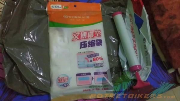 Vacum Plastic Storage Bag