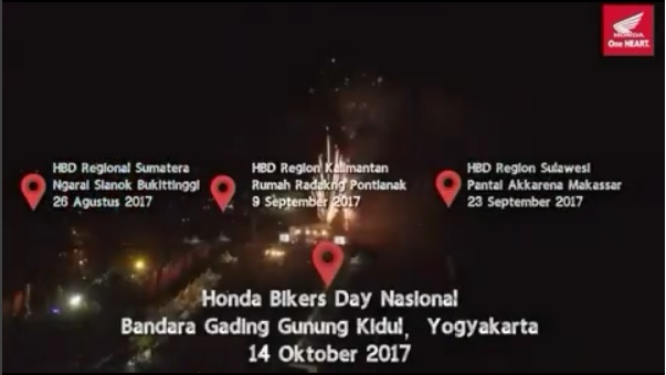 Honda Bikers Day 2017
