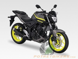 New Color Yamaha MT25 3