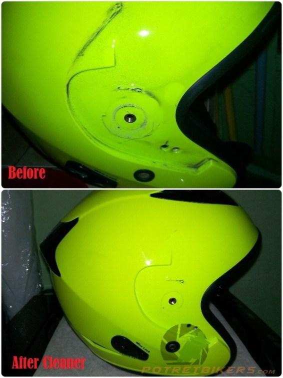Cara mudah Membersihkan Helm 2