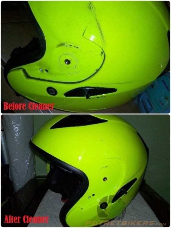 Cara mudah Membersihkan Helm