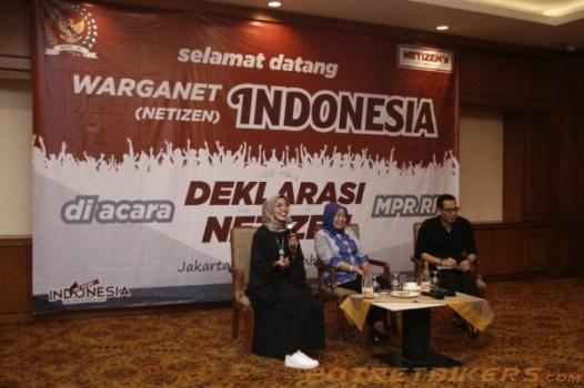 Deklarasi Warganet ( Netizen ) MPR RI 2018 – Day 1