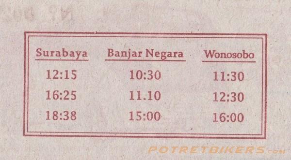 Jadwal Bus Eka Patas Purwokerto Surabaya Harga Tiket 2019