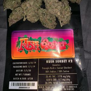 Jungle boys Kush sorbet