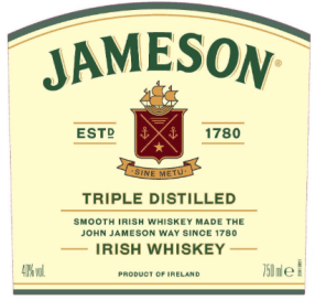 jameson 1780 rebrand