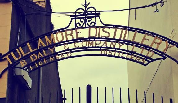 Tullamore Distillery Gates