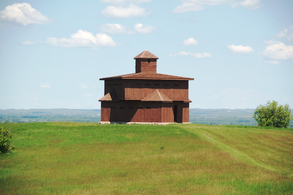 Blockhouse. Click photo to enlarge.