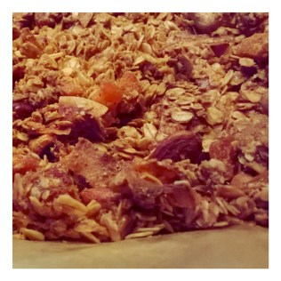 Winterse granola met kardemom en kaneel - na