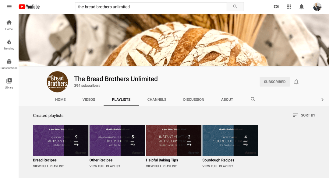 Bread Brothers YouTube