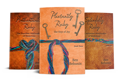 Pleasantly Ruby Cover