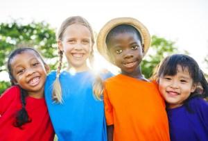Kids with Friendship