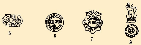 pottery marks Doulton