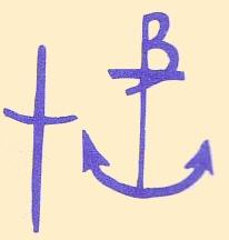 bow pottery mark