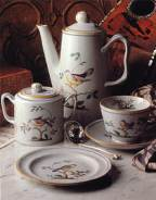 Spode in the Queen's Bird pattern