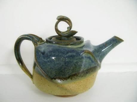 zeller & mat altered teapot