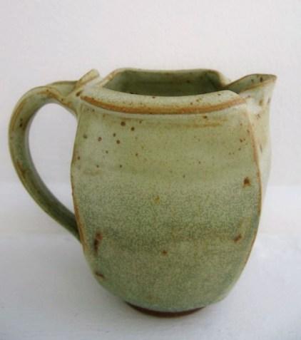 mat & green altered pitcher