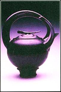 black mat teapot