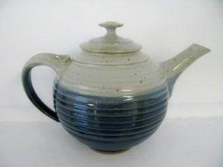 blue & white teapot