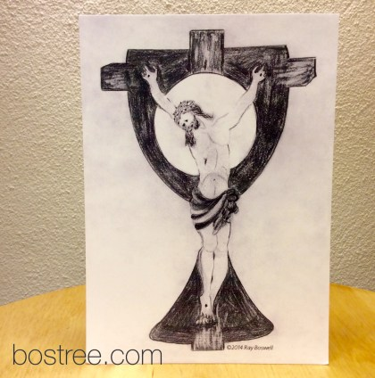 Jesus Icon Postcard