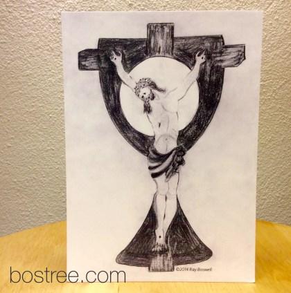 Jesus Icon Postcard