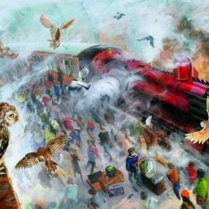 Barevná magie v ilustrovaných knihách Harryho Pottera