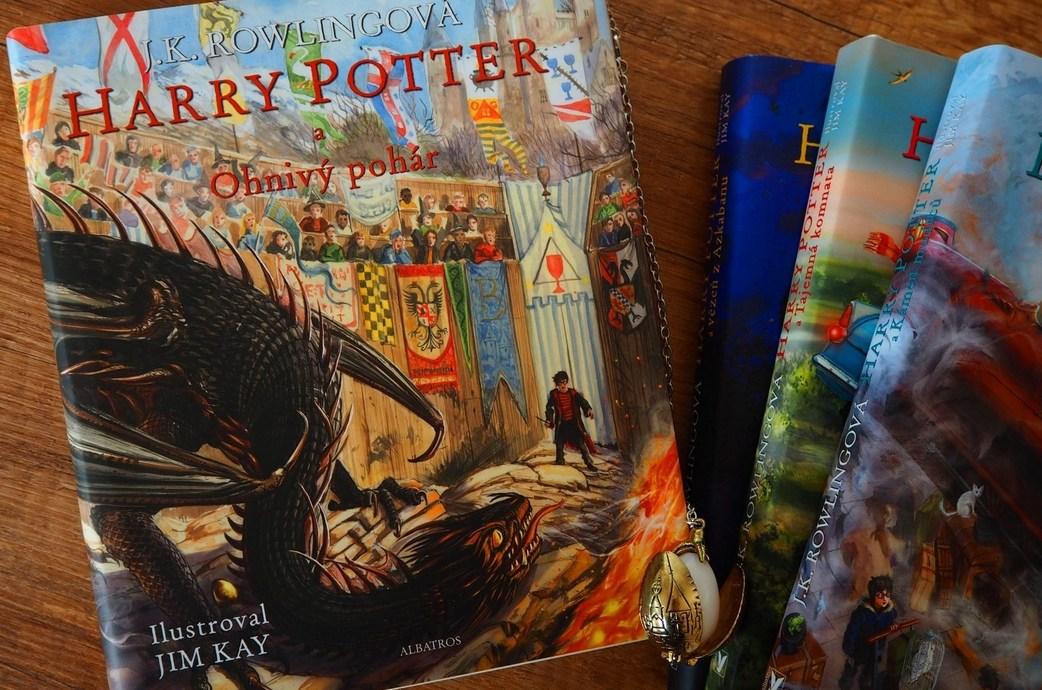 RECENZE: Ilustrovaná verze knihy Harry Potter a Ohnivý pohár