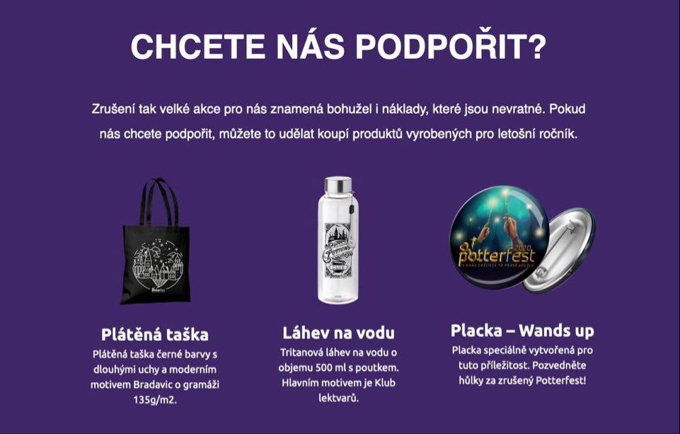 Nové zboží z kategorie Potterfest.