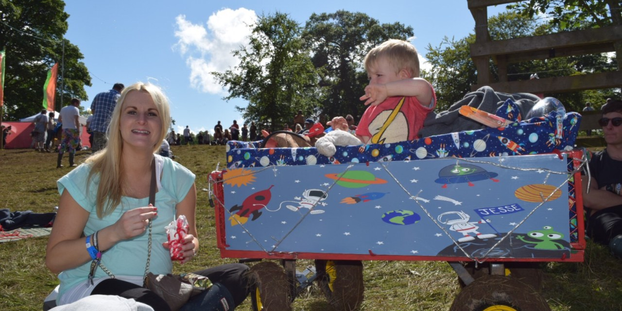 A Guide to Taking Kids to Music Festivals.  Part 3: Getting Around