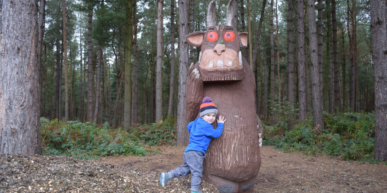 The Gruffalo Trail at Delamere Forest