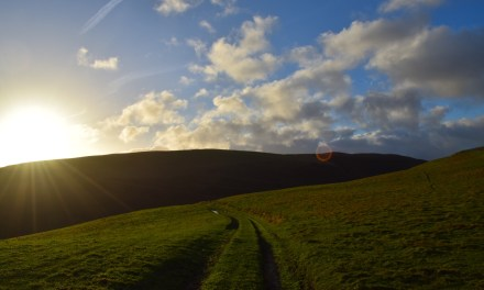 Hiking with kids: Moel Arthur to Penycloddiau (the long way round)