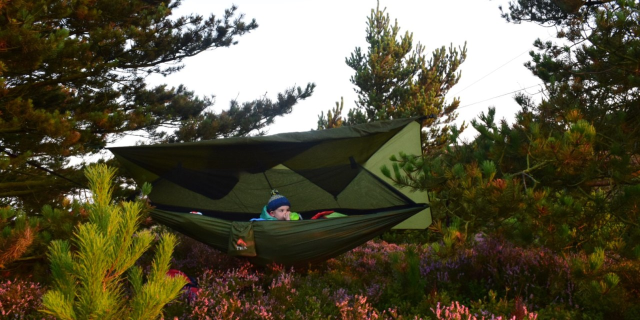 Hammock Camping In The Wild With a 3 Year Old