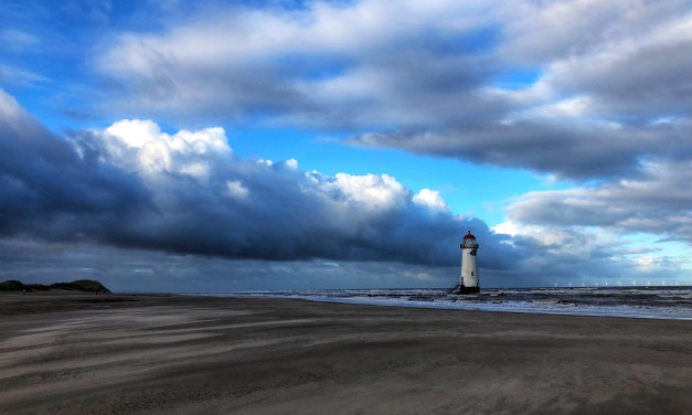 North East Wales Trail Run: Talacre to Rhyl Coastal Path