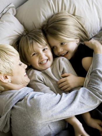 anya gyerekekkel