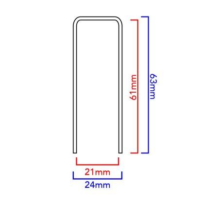 21mm dome dimensions diagram