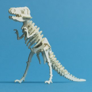 Assembled Classic tiny T-rex skeleton model by Tinysaur.us