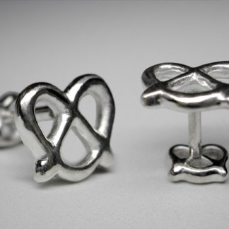 Pretzel Cuff Links