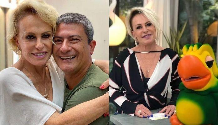 Tom Veiga e o Louro José junto a Ana Maria Braga no Mais Você