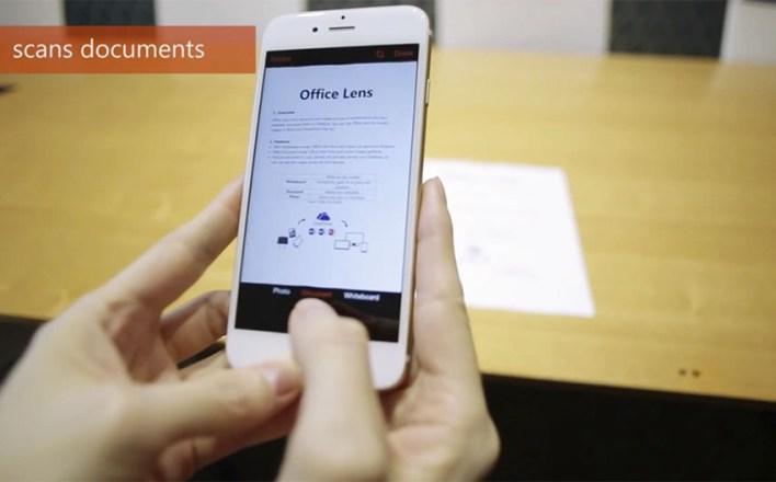 Escanear com app no Celular