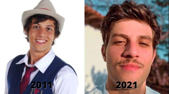 Antes e depois de rebelde