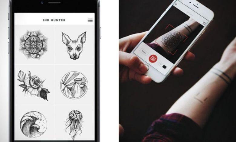 Aplicativo para simular tatuagem nas fotos