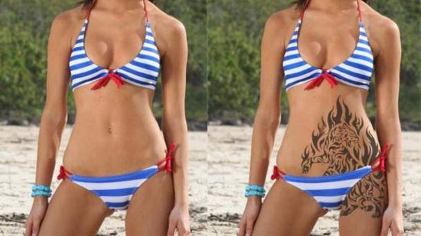 Colocar tatuagem nas fotos