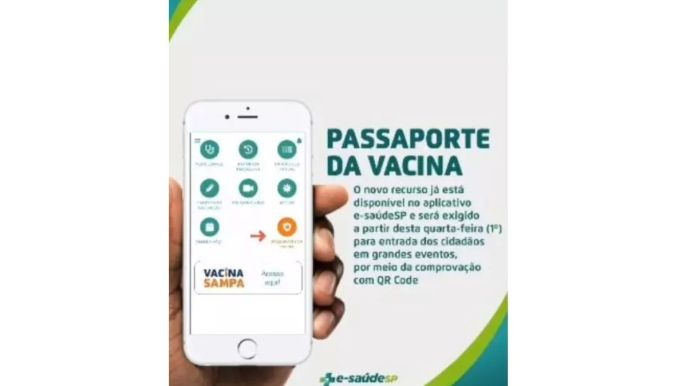Passaporte de Vacina SP Veja como fazer