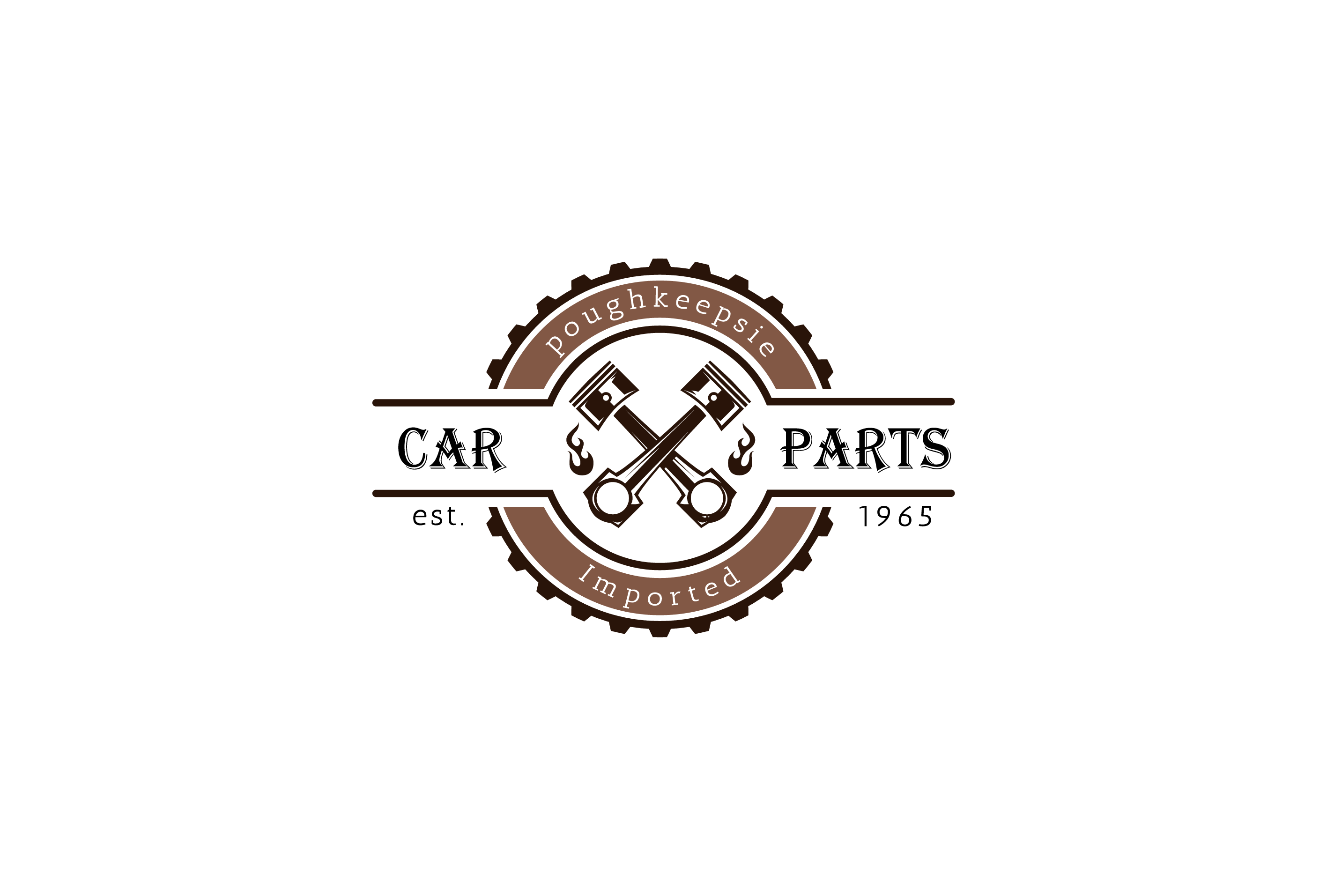 Poughkeepsie Imported Car Parts Logo