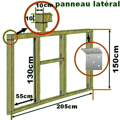 Construction d 39 un poulailler plan poulailler bio for Quel sol pour un poulailler