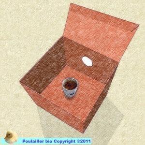 mire oeuf à faire soi même avec une boite en carton